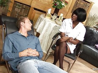 Nurses fucking doctors on slutload Deep anal fuck for ebony milf nurse by huge cock client