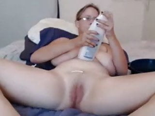 Itchy shaved pubes Hanging naturals milf shaves pubes then uses toy to cum