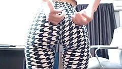 tight leggings ass
