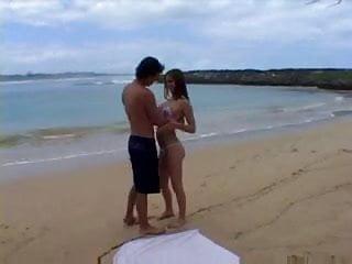Girls having sex on beach Couple having sex on the beach