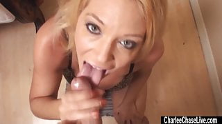 Insatiable Charlee Chase Wants Your Load!