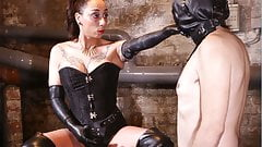 Mistress loves pegging her sex slave