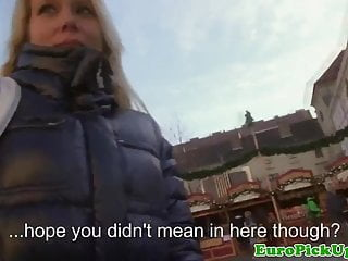 Sex offers Real public blonde offered cash for sex