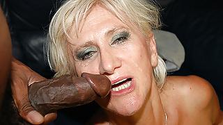 mom's first big black cock sex