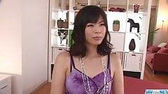 Saki Aoyama hot mom needs a good fuck in threesome