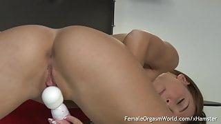 Fit College Student Takes A Study Break To Masturbate