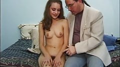EDPOWERS - 18yo Donna masturbating before cumshot