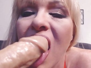 Mature 9 buck - Mature blonde tylene buck with big boobs and creamy cunt