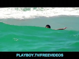 Surfer slut Fit surfer girl is picked up and fucked on a boat