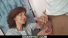 amateur older woman fuck young guy