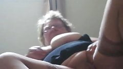 Real Granny in home
