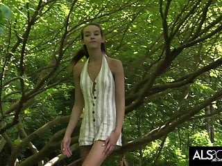 Sex club retreats Charity crawford retreats to the woods to masturbate