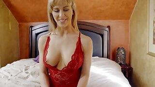 horny celebrity momsteachsex- busty milf gets hot mothers da