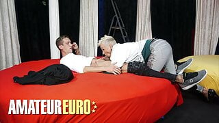 AMATEUREURO - Mature German Slut Is Hungry For Cock