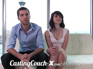 X stream porn - Casting couch-x high school sweethearts start in porn