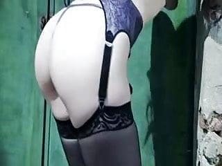 Fucked up porm British slut samantha gets fucked up the arse in stockings