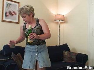 Nasty gross grandma pussy They share nasty old grandma