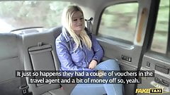 Fake Taxi blonde gets backseat discount