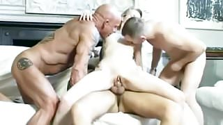 Amateur - Bisex - Tradesmen MMMF Foursome.mp4