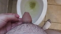 My friend Poexile's tiny uncut willy pees