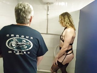 Man pissing in urinals - Blonde british girl being pissed on by urinal lisa and john