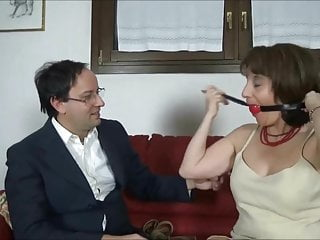 Femdom tie up men - Italian mature tie up
