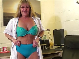 Power strip office Full back knickers office strip