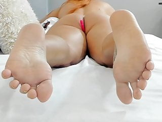 Find the nude lady Nude lady with sexy soft soles