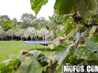 Velocity von big tit patrol Mofos - pervs on patrol - big tit babe twerks on trampoline