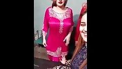 boobies Afreen Khan Rubs Her Butt handjob