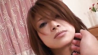 Yuko Uemura makes magic with her mouth and pussy
