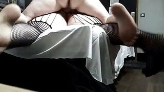 amateur BBW milf for anal creampie