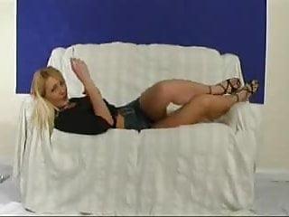 Juicy jo slut - British slut jo may plays with herself on the sofa