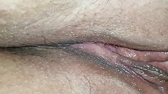 Wife wet shaved pussy eaten and fingered