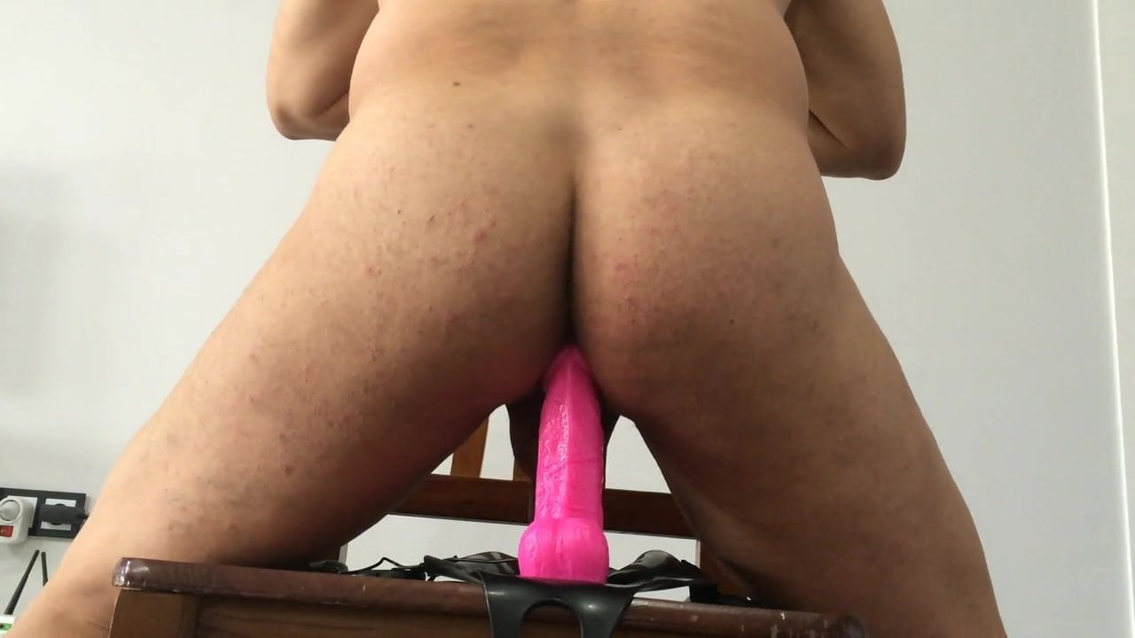 My Wife Lets My Friend Hold The Dildo And Watch Her Ride