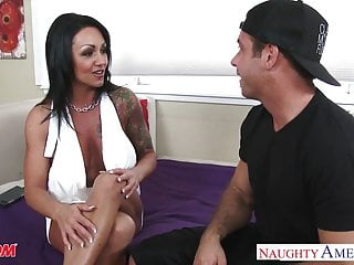Fucking milf ashton Tattooed brunette mom ashton blake fucking