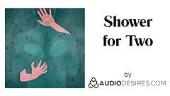 Shower for Two (Erotic Audio Porn for Women, Sexy ASMR)