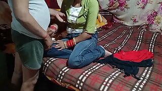 Indian desi village girl's first time sex.