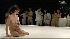 Hot Dance nude on stage Cotelette of Ann Van den Broek.