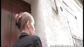 Amateur blonde hard sodomized