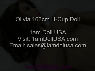 Tpe sex toys - Olivia 163cm h-cup tpe love doll sex doll, 1am doll