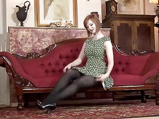 Erotic indulgences wet wild wicked Busty british redhead indulges erotism