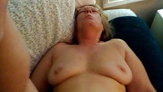 61 yr mother iniaw ass cum