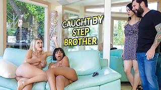LETSDOEIT-Stepbro Scamed By Lesbian Stepsister Natalia Starr