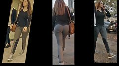 PAWG WITH BUBBLE BUTT IN SPANDEX