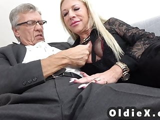 Secretaty force fucked - Mother and step daughter join forces to fuck daddy together