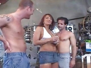 Free milf sex trailers Trailer milf takes on three