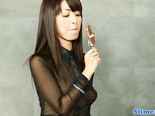 Marcia cross bikini Asian marcia hase gives footjob to gloryhole cock