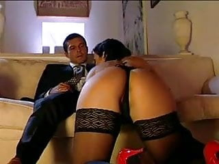 Corset porn pic thmbs - Milf anal in corset, stockings and heels.
