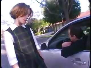 Her first fucking Stp3 cute schoolgirl picked up and enjoys her first fuck